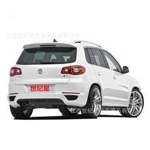 Подходит для Volkswagen Tiguan VW Tiguan ABS задний спойлер заднего крыла с настройкой DIY цветной спойлер без краски спойлер