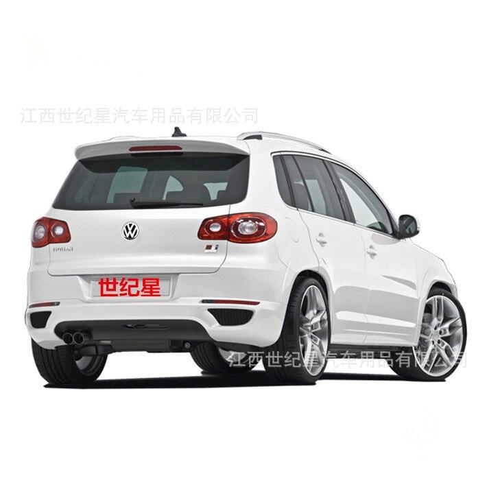 Adapté pour Volkswagen Tiguan VW Tiguan ABS aileron arrière aile arrière avec personnaliser bricolage couleur spoiler pas de spoiler de peinture