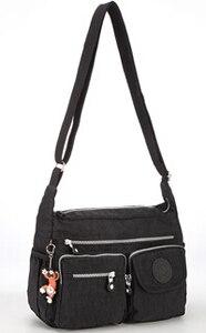 Image 4 - TEGAOTE Bolso de hombro de nailon con cremallera para mujer, bandolera para playa, de verano