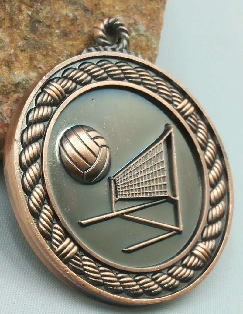 Metal Games Medal Basketball School Students Volleyball And Brass Sport Medals Volleyballs Elementary Prizes Gymnastics Unisex