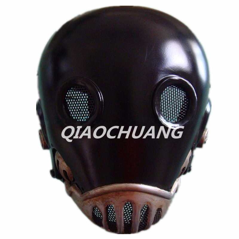 Hellboy Mask Breathable Full Face Mask Kroenen Helmet Halloween Cosplay Horror Helmet Karl Ruprecht Kroenen Halloween Props W153 predator design face mask halloween props