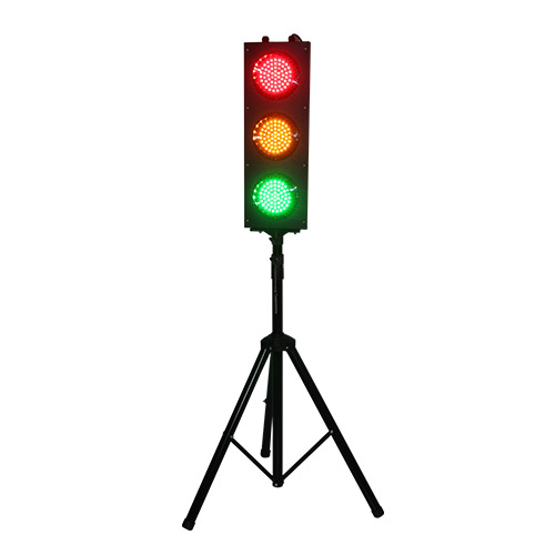 British Standard Kids Play Toy Tripod Portable 125mm  LED Traffic Light