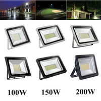 LED Floodlight 100W 150W 200W 220V Flood Light Refletor LED Lamp Spotlight For Square Billboard Building