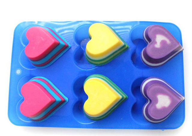 Aliexpress Com Buy Cake Decorating Kit 6 Holes Heart