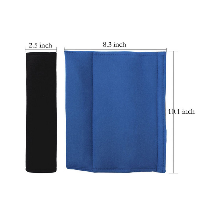 1 paar Mode Auto Sitz Gurtband Abdeckungen Plüsch Einfarbig Stoßfest Sicherheit Schulter Pad F-Beste