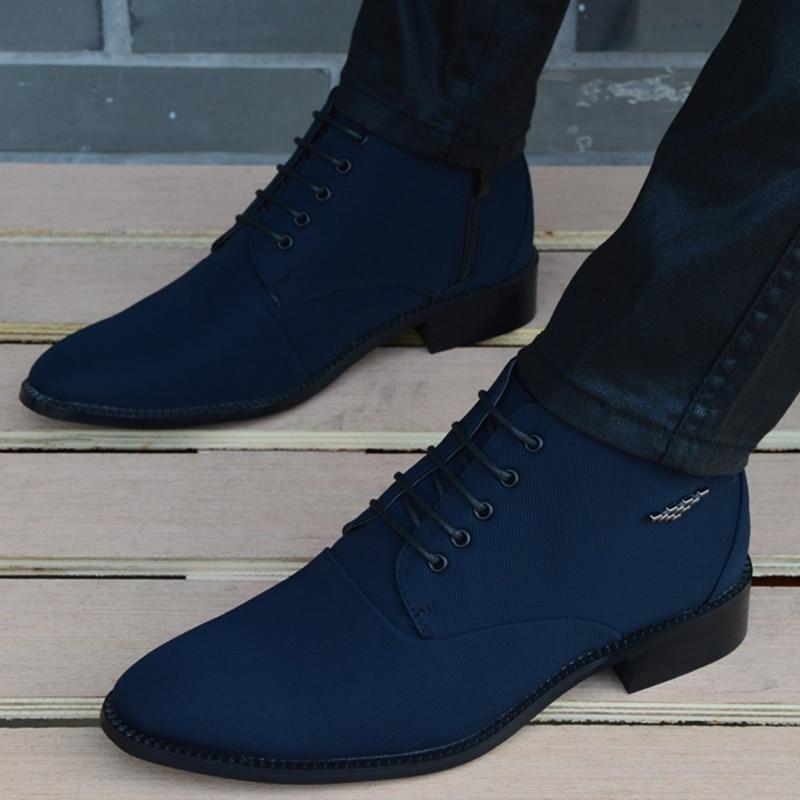 2020 New fashion Boots Men canvas Shoes Men Ankle Boots sping autumn Oxford  Shoes For Men Boots|shoe ornament|shoes sport shoesshoes europe - AliExpress