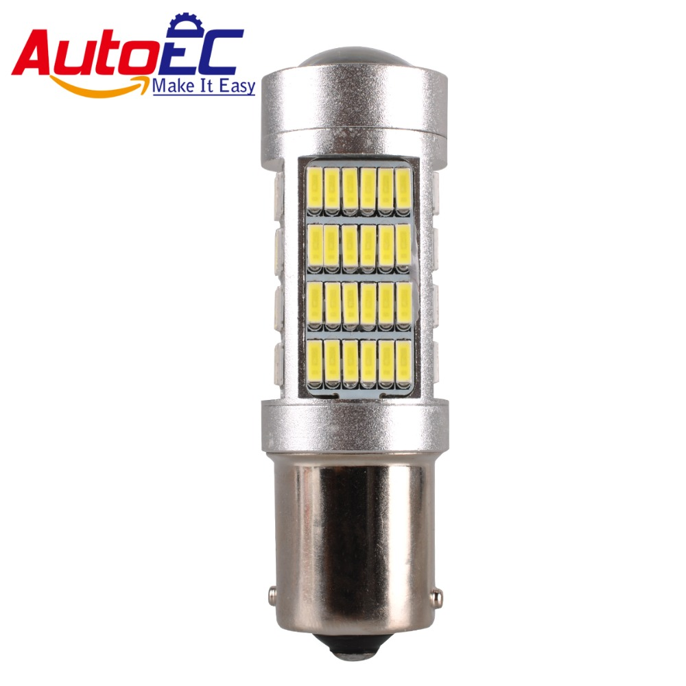 mr turn signals promotion shop for promotional mr turn autoec 2x 1156 turn signal led lamp 108 smd 4014 leds super bright led light for universal autos cars dc12 24v lf74
