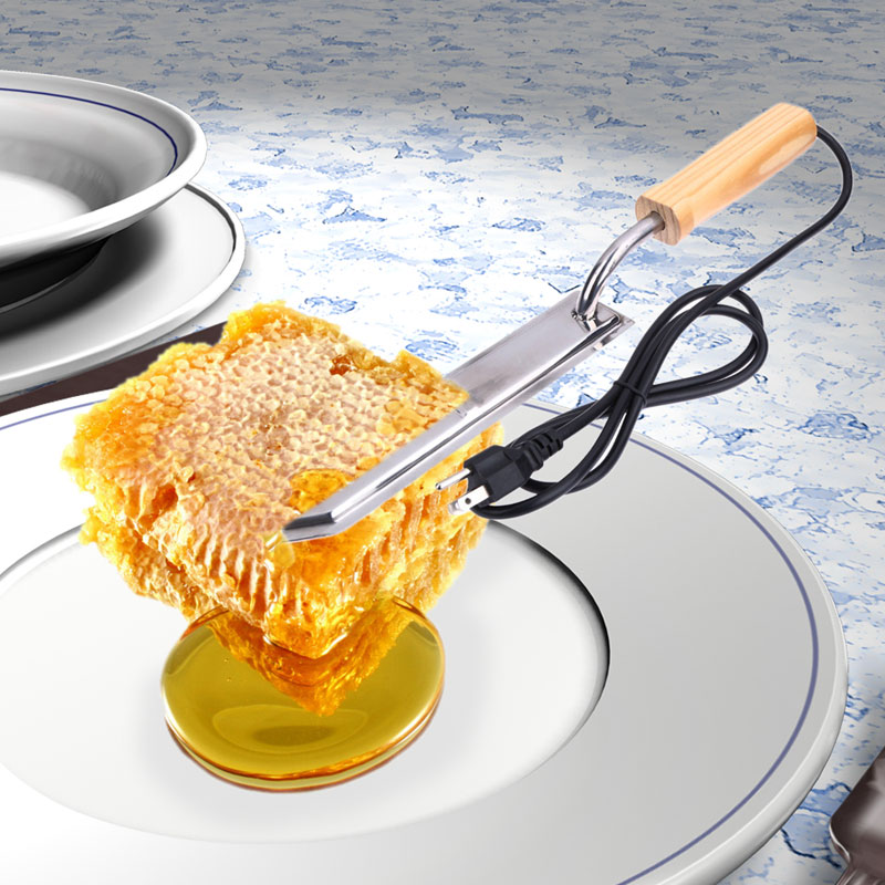 Electric Uncapping Knife Large Honey Scraper Hot Knife Stainless Steel Electric Type Honey Special Cutter