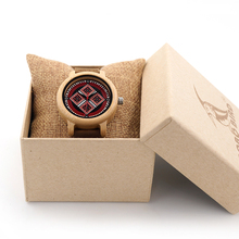 BOBO BIRD Brand Women Watches 37mm Bamboo Wood Ladies Watch Female Clock Lady Quartz Watch for Women as Gifts