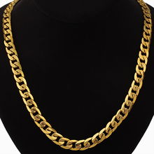 Dubai African Jewelry Set Hiphop Thick Chain Gold Color Mens Jewelry Sets Necklace Bracelet Sets For Men, Male Jewelery Sets