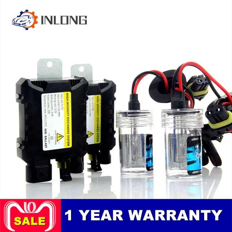 INLONG H7 35W DC 55W Slim Ballast Kit HID  Headlight Bulb 12V H1 H11 H4 H3 Hid Kit 4300K 6000K Replace Lamp Car Accessories