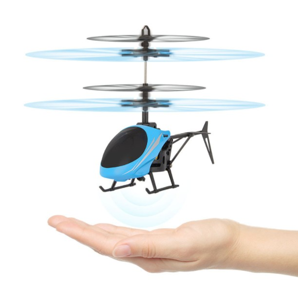 Remote Controlled Helicopter RC Drone Mini Drone Brush Motor RC Infraed Induction Aircraft Flashing LED Light Toy Dropshipping