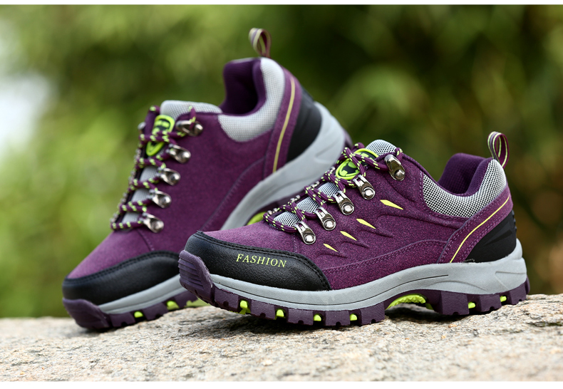 506ffca7bac2f 2019 Unisex Hiking Shoes Outdoor Campline Hiking Sneakers Breathable ...
