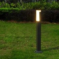 LED 잔디 램프 야외 조명 IP65 방수 LED 3W 정원 알루미늄 베란다 조명 마당 경로 연못 홍수 스포트 라이트 AC 110V 220V