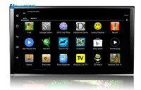 7 дюймов полный Сенсорный экран Android 4,4 Универсальный Автомобильный GPS навигации СБ Navi головное устройство с поддержкой Wi Fi 1024*600 HD Экран 178*100