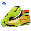 High Ankle Professional Mens Turf Soccer Boots New Kids Football Shoes Cheap Women Futsal Sneakers Top Original Soccer Cleats