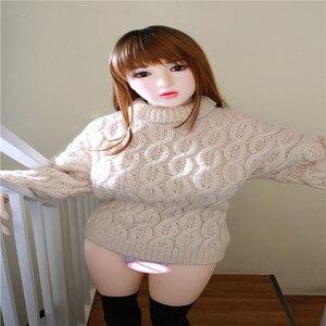 Image 1 - 138Cm Nhật Bản Búp Bê Tình Dục Ngực Lớn Thật Đầy Đủ Kích Thước Dẻo Silicone Dây Đồng Hồ Tình Yêu Búp Bê, miệng Âm Đạo Mèo Hậu Môn Người Lớn Búp Bê TPE