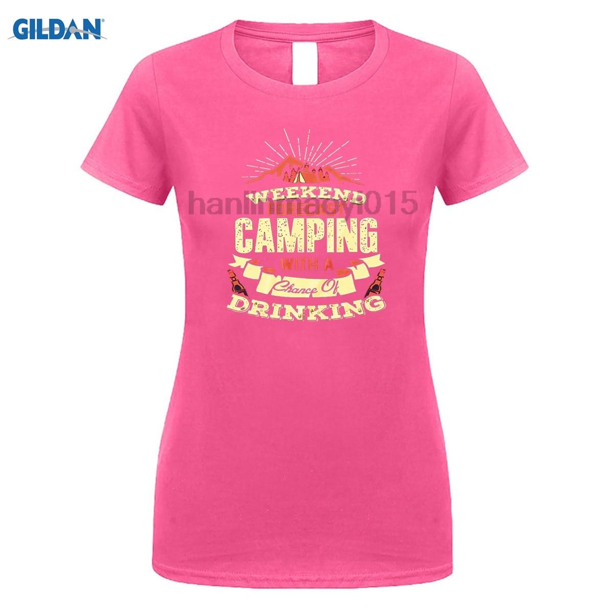 GILDAN printed T-shirt WHAT HAPPENS AROUND THE CAMPFIRE t-shirt for women