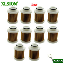 XLSION 10 шт. топливный фильтр для Yahama F40A F50/T50 F60/T60 F70 F90 F115 заменить 6D8-WS24A-00-00 30-115