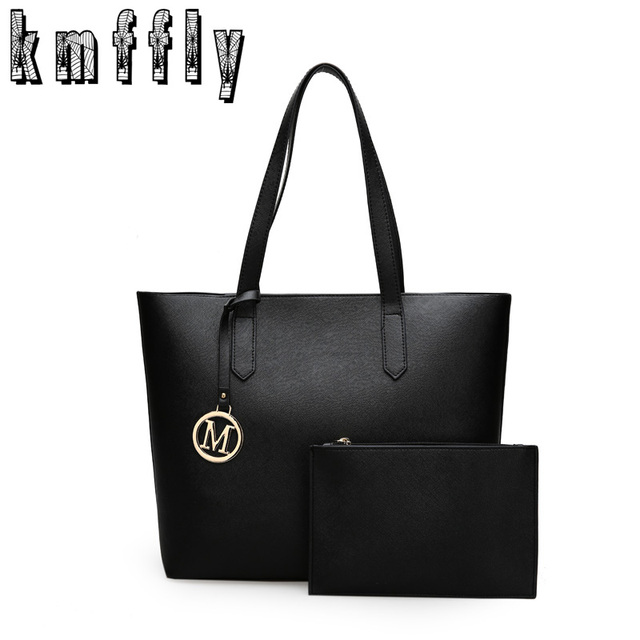 2016 New Fashion Women Composite Bag Designer Handbags Woman Leather Bags  Handbags Women Famous Brands Shoulder 45a2d8eff6108