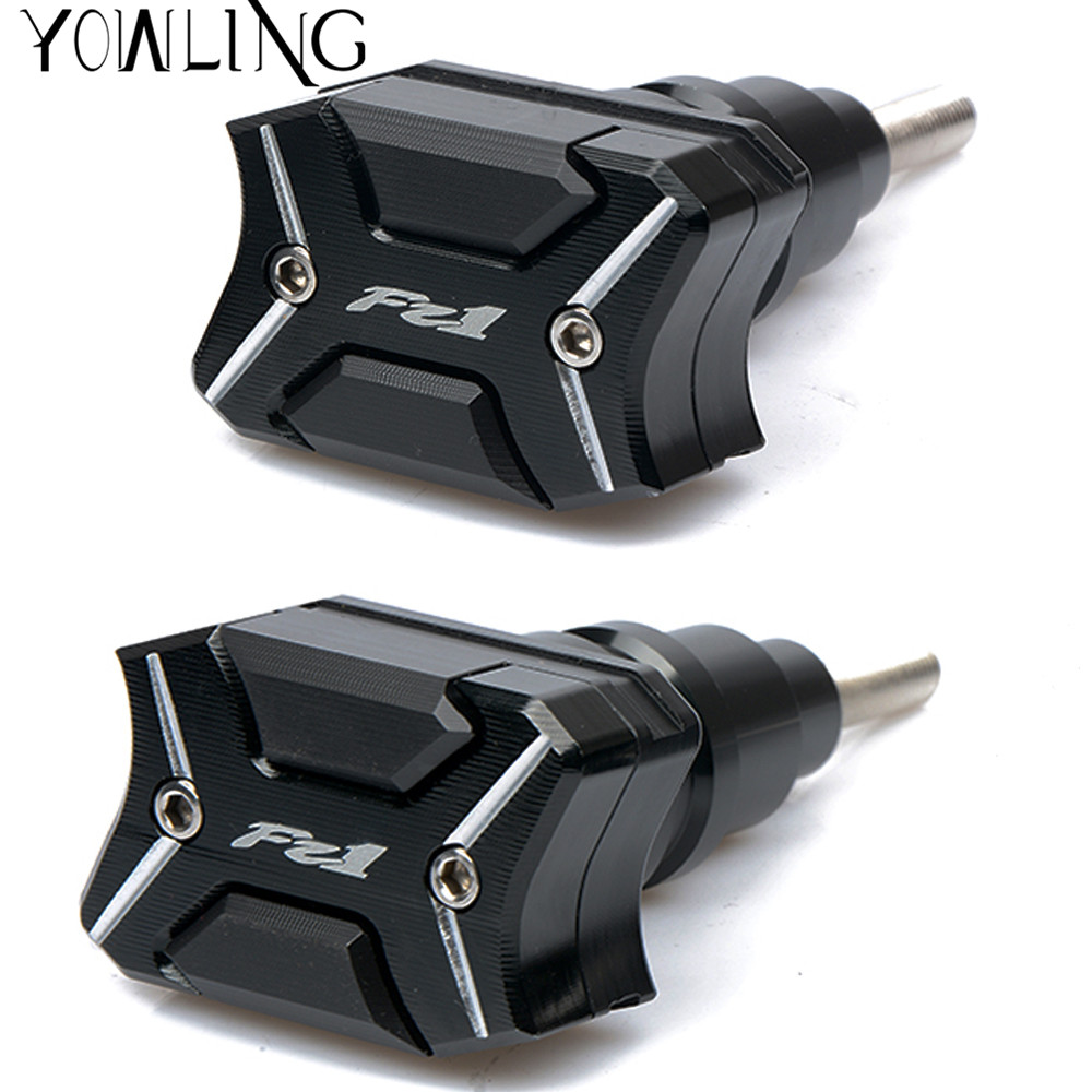 CNC Falling Protection Frame Slider For Yamaha FZ1 2001 2002 2003 2004 2005 2006 2007 2008 2009 2010 2011 2012 2013 2014 2015 engine slider protectors for honda cb1300 2003 2004 2005 2006 2007 2008 anti crash pads falling protection protective cb 1300