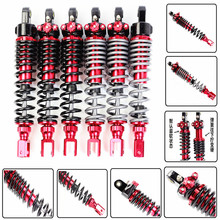 Universal 320mm/12.5 Motorcycle Air Shock Absorber Rear Suspension For Yamaha Honda Motor Scooter BWS XMAX Aerox Dio Zoomer ATV universal 12 5 320mm motorcycle air shock absorber rear suspension for yamaha motor scooter atv quad black blue silver red