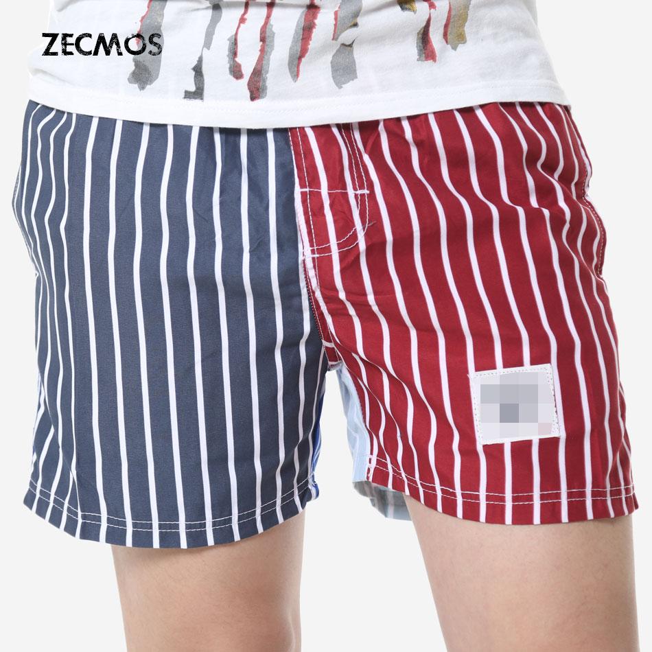 Striped Shorts Mens