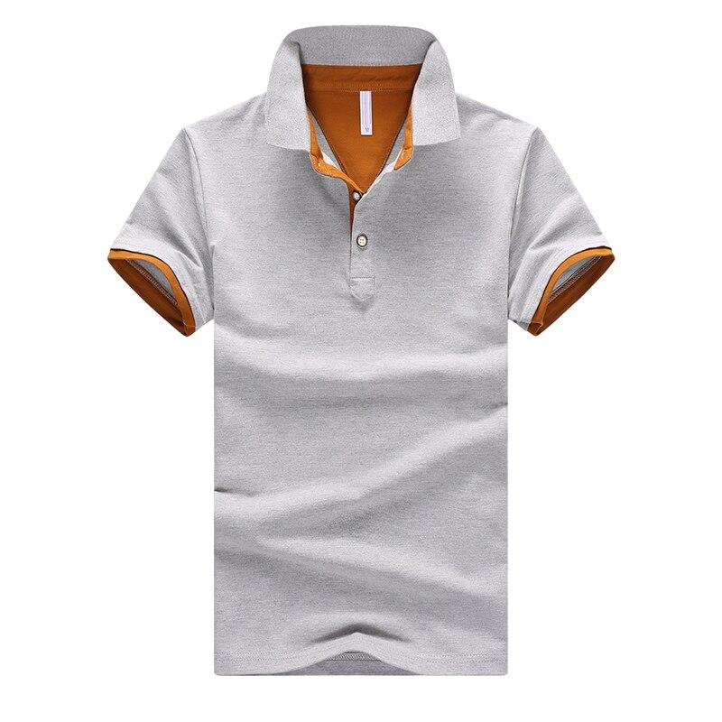 Men's Casual Lapel Business Comfort Golf Shirt   POLO   Shirts -95% Cotton -Gray White Blue Black -M L XL 2XL 3XL