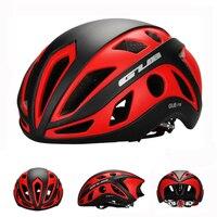 Engrossar capacete de bicicleta de estrada qualificado ciclismo esportes de bicicleta em molde capacete da cidade com borda chapelaria cascos ciclismo 56 61cm|Capacete da bicicleta|Esporte e Lazer -