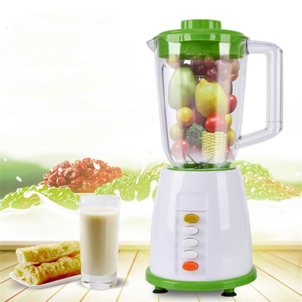 250W Electric Juicer Multifunctional Processing Machine For Nutritious Fruit And Vegetable Health Juice Extractor Fruit Mixer