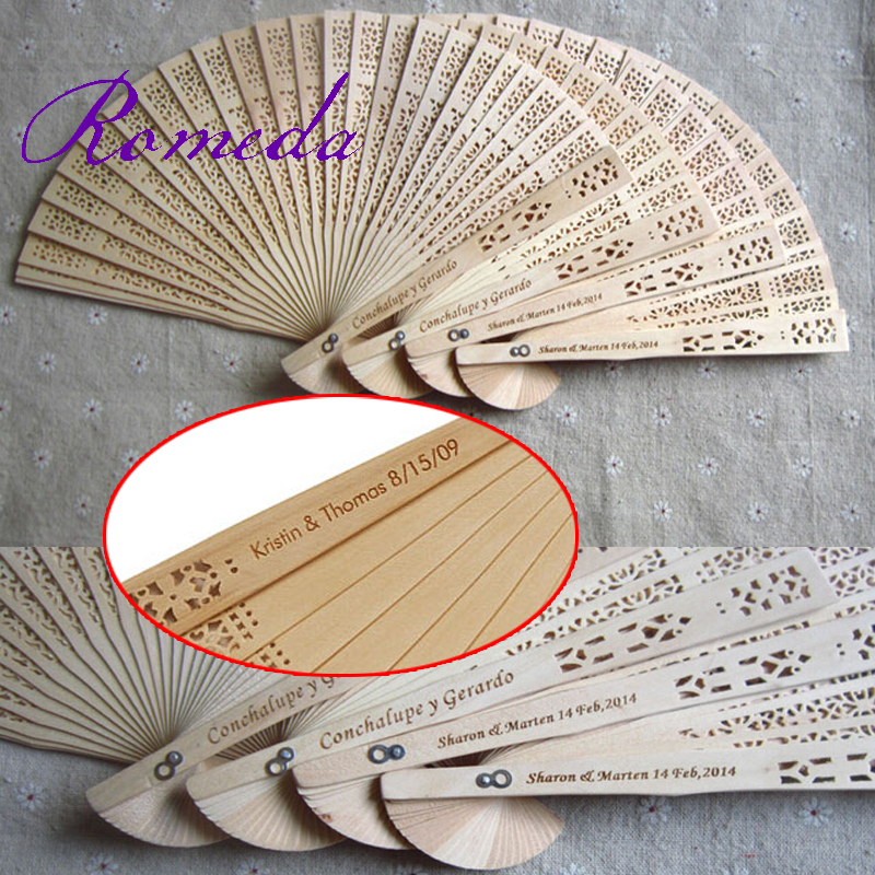 personalized wedding fans promotion shop for promotional