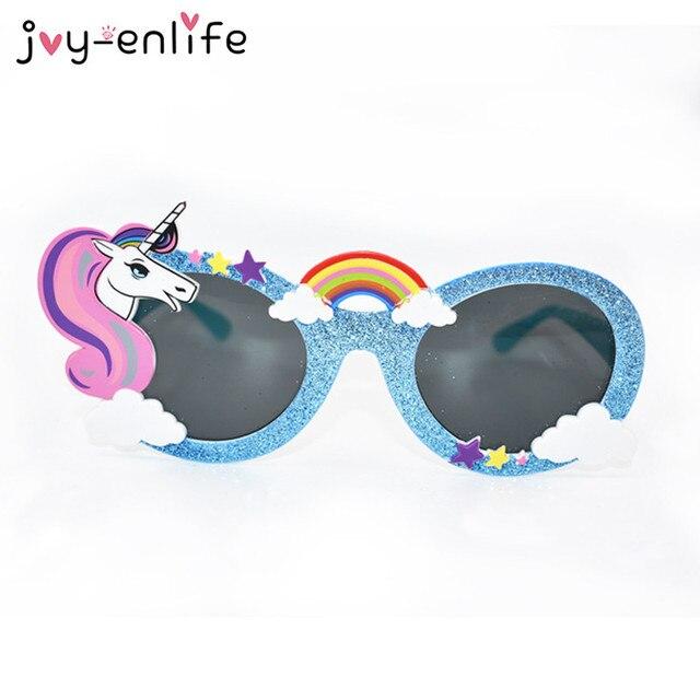 Piezas Divertida Unicornio Enlife Estilo Del 1 Gafas Joy De Sol CxoBreWd