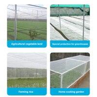 Cover Plant Protection Breathable Nylon Garden Netting Mesh Barrier Vegetables White Anti Pest Greenhouse Multipurpose Fruits