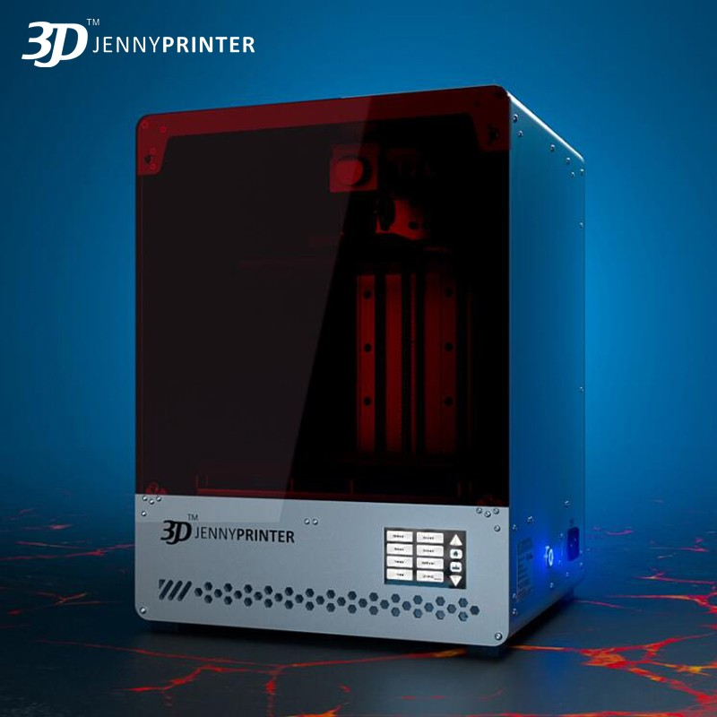 Jennyprinter photopolymérisable SLA/LCD imprimante 3D JennyLight1 + grand volume haute 8.9 pouces 2 k affichage DLP impresora bijoux