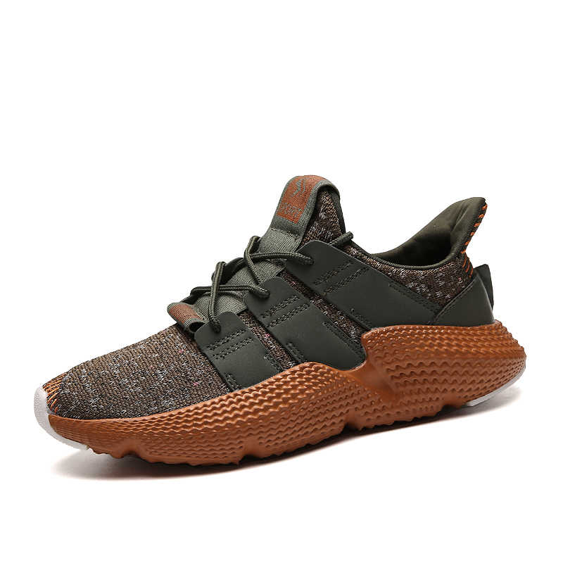online retailer 4cd2d 17222 New Style Running Shoes for Men Super Cool Brown Outsole Sports Man Sneakers  Lace up Lightweight