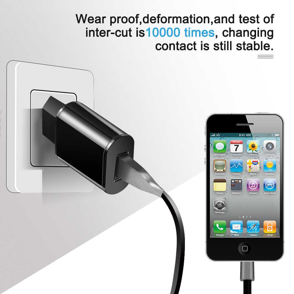 5V 2A Cepat USB Charger Digital Kabel Universal Mobile Phone Charger untuk Iphone Samsung Xiomi Huawei Adaptor Tablet Konektor