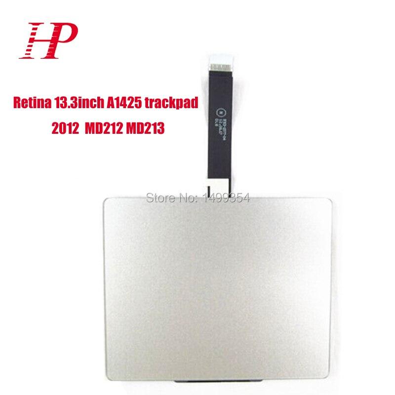 Genunie 2012 an MD212 MD213 A1425 Touchpad avec câble pour Apple Macbook Pro 13 ''Retina A1425 Trackpad souris et câble flexible