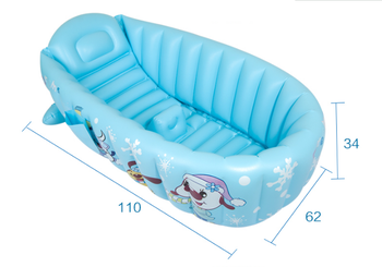 Baby Inflatable Bathtub Large Insulation Baby Safety Bathtub Winter Insulation Bathtub Security Seat Support
