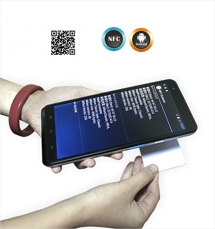 Free Shipping 7 Inch Touch Display Industrial Android 2D Barcode Scanner,Handheld Terminal with Bluetooth NFC,WIFI