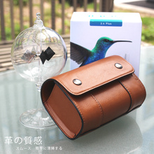 Business PU Leather Pouch Bag Protective Cover For IQOS 2.4 2.4 Plus Juul Electronic Cigarette Vape Bag Case /w Detail Box deer detail pu bag
