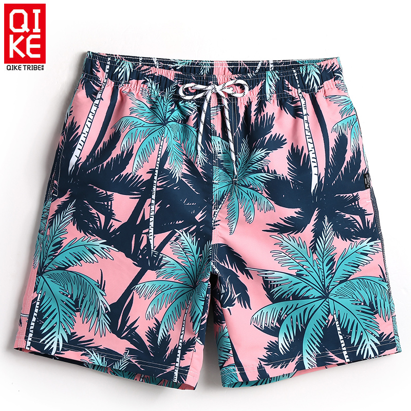 Board shorts men lined swimwear beach surfing shorts quick dry swimming trunks sweat running shorts joggers praia travel holiday
