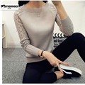Winter Women Long Sleeve Gray Casual Cashmere Sweaters and Pullovers Female Lover Trendy Movie Star Models Best Knitted Sweater