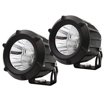 Led Fog Driving Light Pod Lights Led 50W Word Lamp Combo Spot Flood Beam Waterproof Round Led Off Road Lights For Motorcycle J