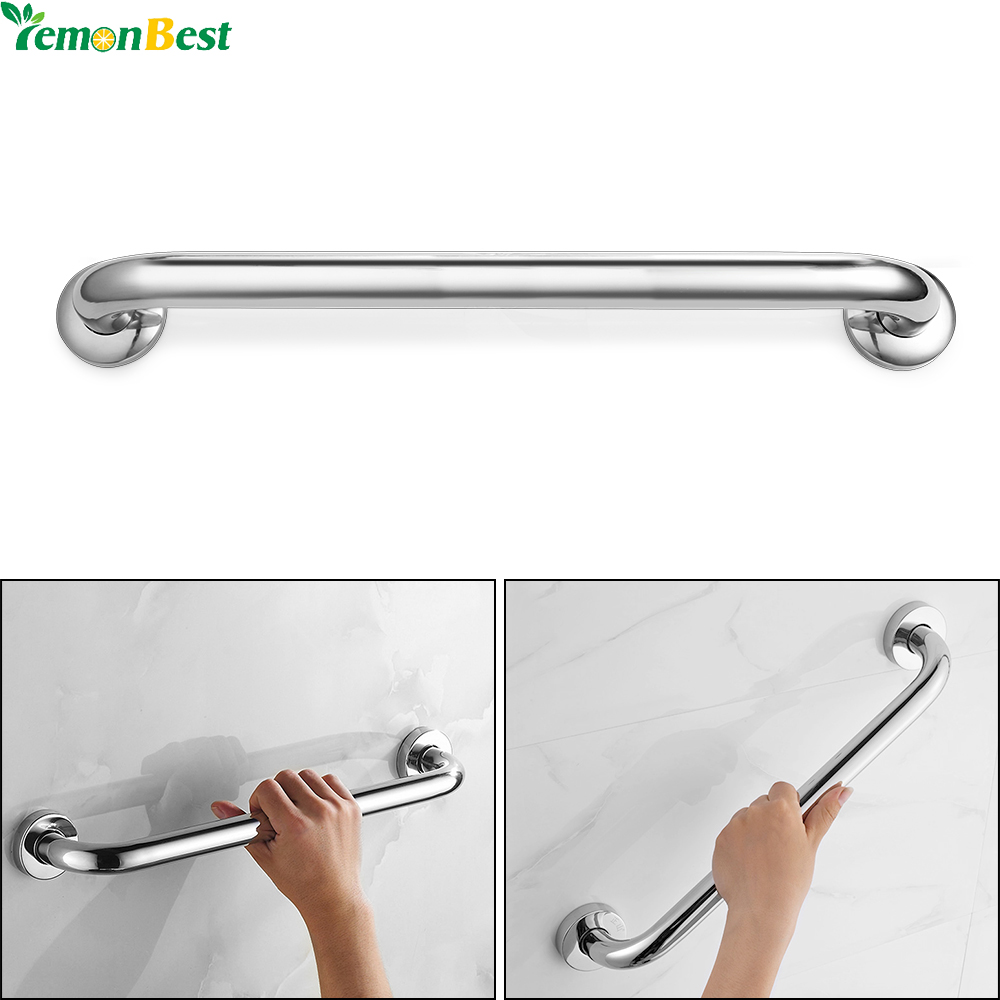 40CM 50CM Anti slip Stainless Steel Bathroom Tub Toilet Handrail ...