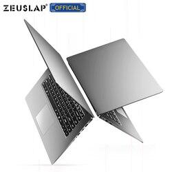 ZEUSLAP 15,6 дюймов 8 ГБ ОЗУ до 2 ТБ HDD Intel Quad Core CPU 1920*1080P Full HD Win10 система школьный ноутбук компьютер