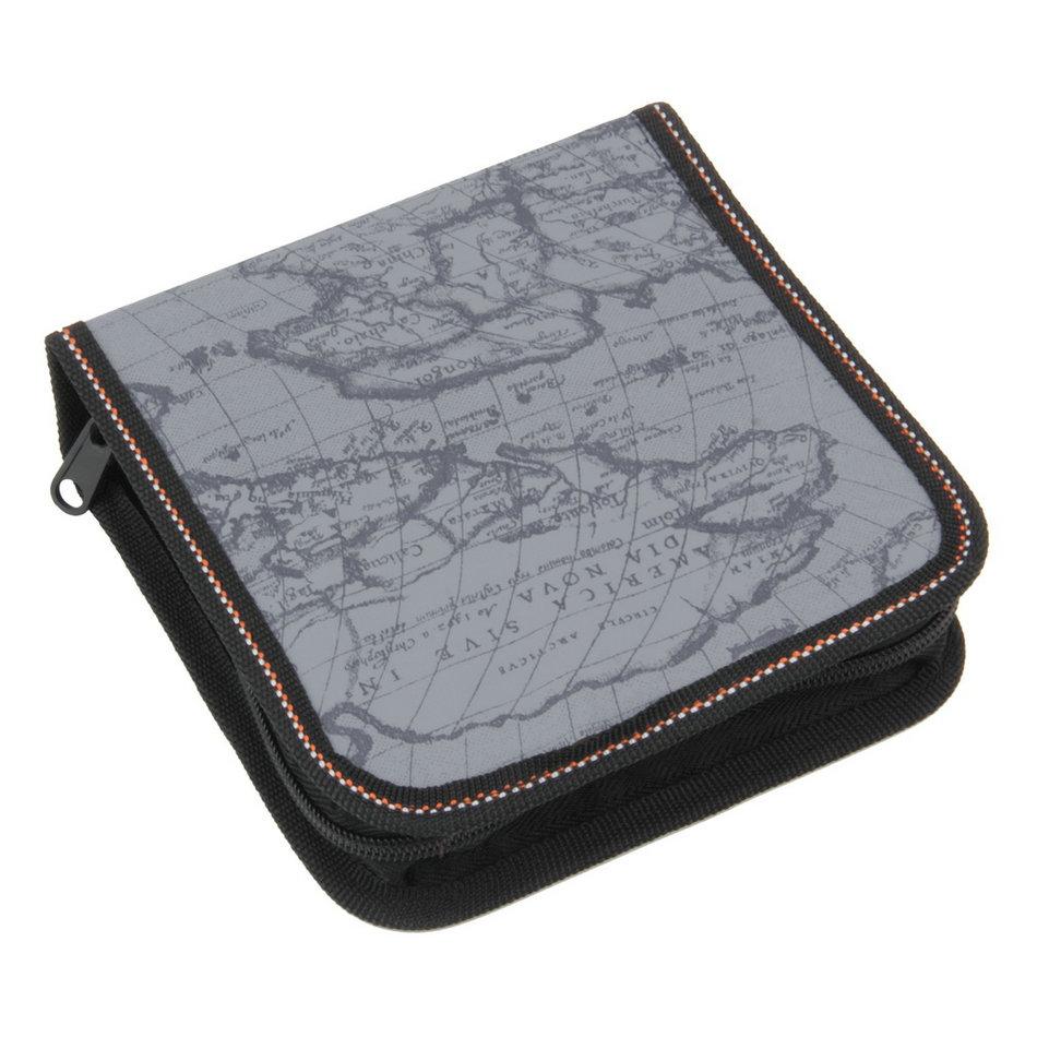40 disc cd dvd storage case holder dj storage cover box case disc organizer wallet bag