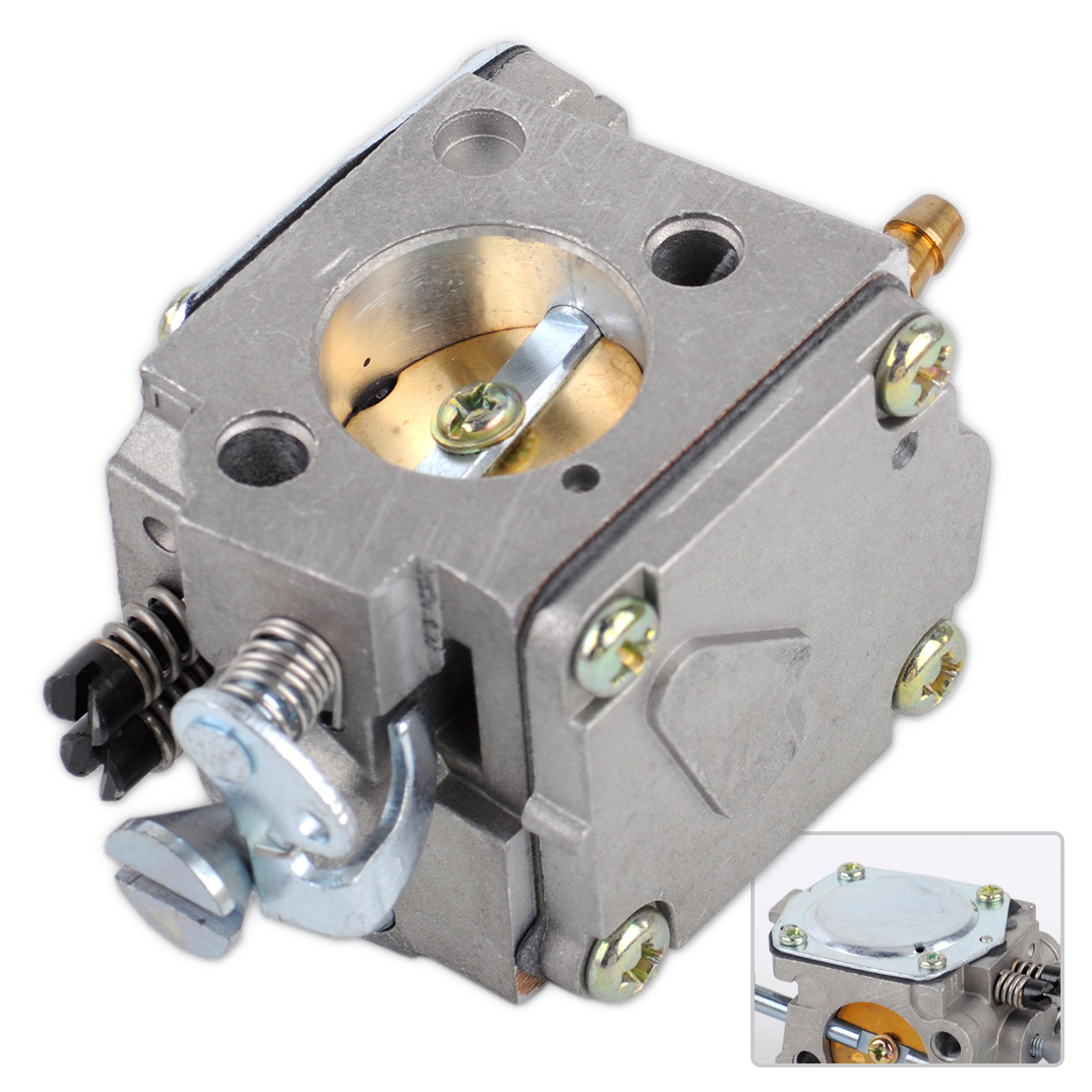 LETAOSK Carburetor Engine Motor Carb Fit For Husqvarna 61 266 268 272 272XP ChainsawAccessories