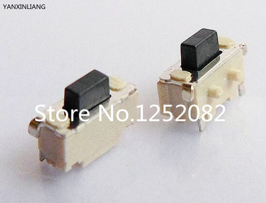 50Pcs 2x4x3.5mm Tact Tactile Push Button Switch SMD Surface Mount Momentary promotion 50pcs lot smt 3x6x2 5mm 2pin tactile tact push button micro switch self reset momentary