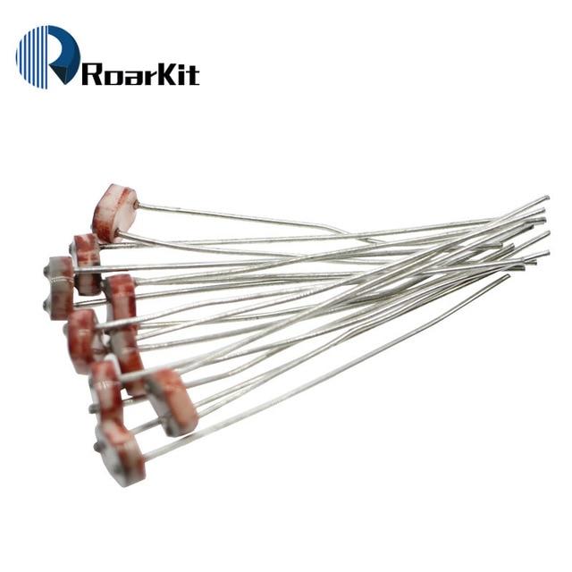 200 x 5528 Light Dependent Resistor LDR 5MM Photoresistor wholesale ...