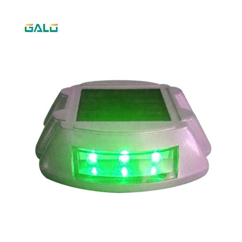 Colored Aluminum Horseshoe Solar Led Traffic Light